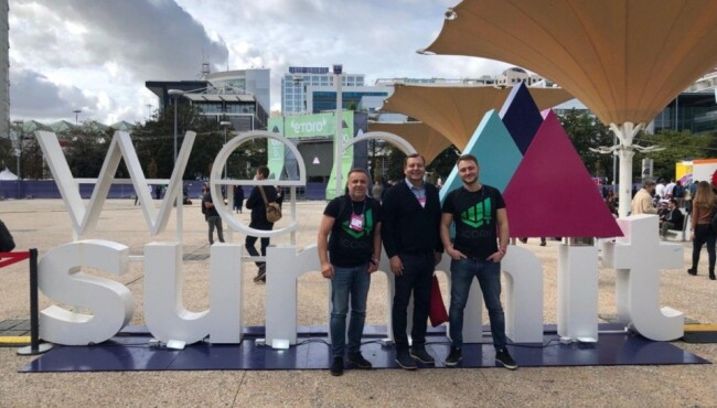This was WOW! iCORN is at the World Conference in Lisbon The WebSummit 2019