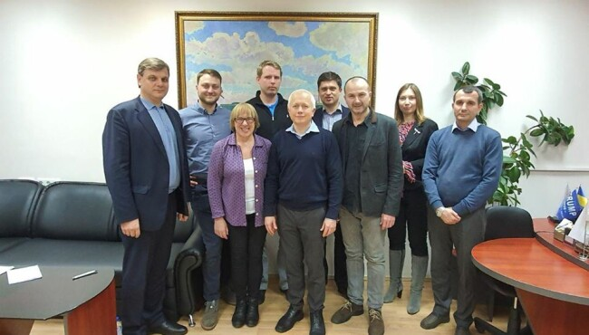 Meeting with the team of Ukranian Agrarian Confederation (UAC) January 2020