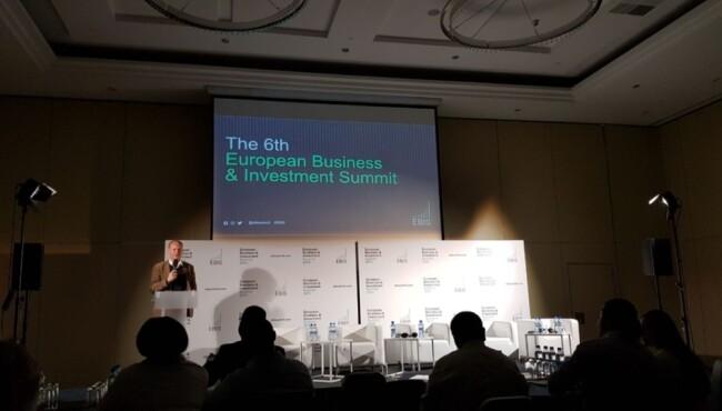 Відвідування конференції European Business & Investment Summit у Варшаві. Вереснь 2019 року
